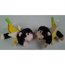 Banana Monkey USA UK Stuffed Plush Animal