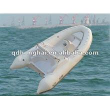 NUEVO casco de fibra de vidrio barco RIB420C con CE