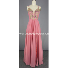 Pink Ball Gown Quinceanera Dresses Chiffon Dresses