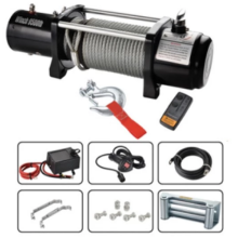 12000LBS 12V  DC Electric Winch