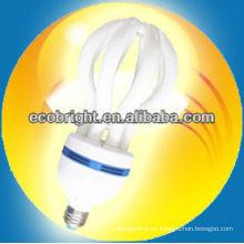 energía ahorro lámpara 5U loto 17mm 8000H CE calidad