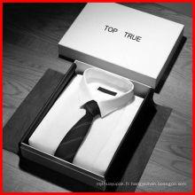 Boîte d'emballage de vêtement / vêtement / chaussures de luxe sur mesure, boîte d'emballage en papier et emballage en papier