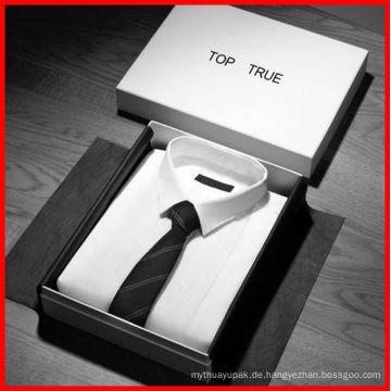 Kundenspezifische Luxuseinzelhandels-Kleidung / Kleid / Schuhe, die Kasten, Papierverpackenkasten und Papierverpackung verpacken