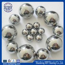 Rolamento de esfera de aço G10-G1000 Suj2 bola de aço cromado
