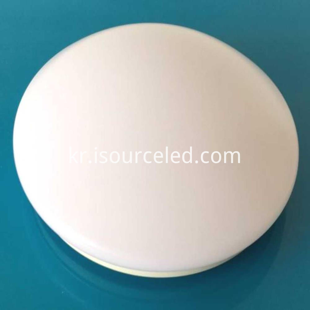 Round 35cm 16w-40w ceiling light that plugs in