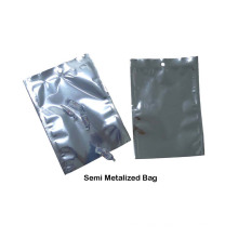12mic Semi Metallized Polyester Film for Food Visual Packaging