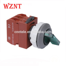 30mm 2 position latching push button switch water proof