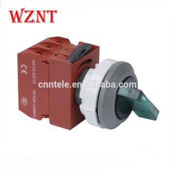 Interrupteur à bouton-poussoir de verrouillage à 2 positions de 30 mm étanche à l'eau