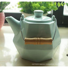 600ml Calssical Ceramic Tea Pot Prime Quality