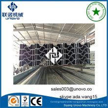 automatic w structural section roll forming making machine