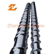 Extrusora rosca bimetálico barril Bimetal parafuso barril