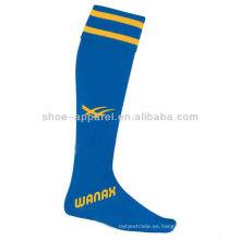 2013-2014 rodilla al por mayor calcetín de fútbol, calcetín de fútbol
