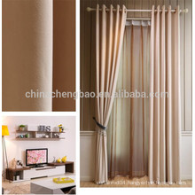 Home decorative fancy window curtain linen panel curtain