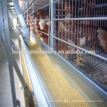 Cage automatique de poulets à griller à chaud