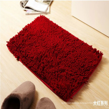 La alfombrilla de baño de 3 pedazos fija la estera absorbente disponible del piso