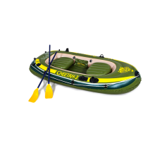 Family inflatable racing boat