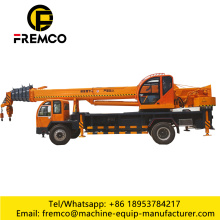 Truck Crane On Tyres For 12 Ton