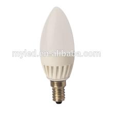 180 grados Super Brillo 5W Bombillas LED E27 / E14 Dimmable LED Blub Luz