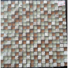 Mosaic Tile Stone Mix Crystal Glass Mosaic (HGM359)