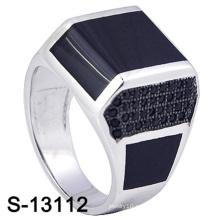 Anillo de joyería de gama alta de plata 925 para hombre