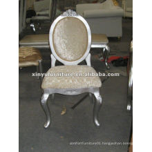 2015 new design white louis arm chair XYD069