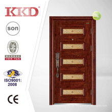 Spleißen Stahl Sicherheit Tür KKD-903 mit Aluminium-Rahmen