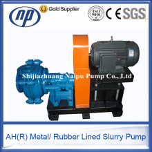 Horizontal Centrifugal Gold Ash Mining Sludge Sump Slurry Pump
