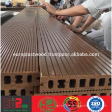 Decking exterior de WPC / plástico compuesto de madera Decking premium