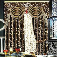 Nueva cortina de la ventana del patrón hecha de flannelette