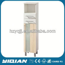 Hot Sale Furniture Free Standing Home Living Peinture en MDF ou film de film en PVC Luxury Tall Cheap Stockage Meubles