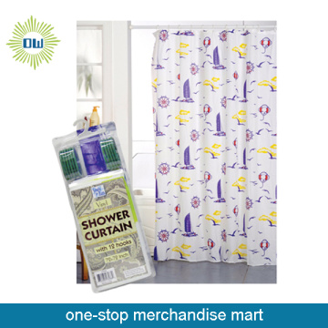 Dollar Items of PEVA Shower Curtain