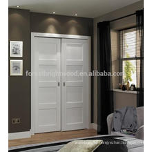 4 panel white shaker style internal doors, wardrobe door