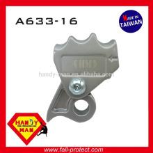 A633-16 Protection contre les chutes industrielles Aluminium avec oeillet 16mm Cordon synthétique Grab