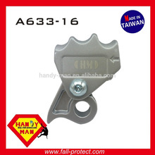 A633-16 Industrial Fall Protection Alumínio com olho 16mm Synthetic Rope Grab