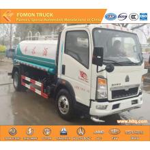 SINOTRUK HOWO 4X2 xe tải nước nhỏ 6m3