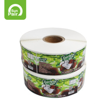 Printing Roll Custom logo Self Adhesive Labels Stickers For food Package,Printed Food Labels