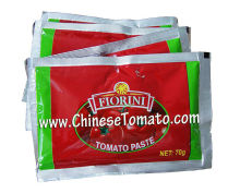 Pouch Tomato Paste of Double Concentrated