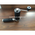 Mini manual coffee grinder connect with the portafilter wholesale coffee maker coffee bean grinder