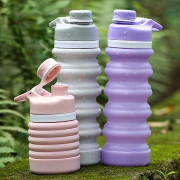 outdoor sport water bottle custom collapsible eco friendly