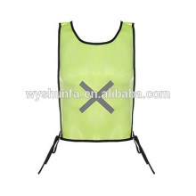 Revestimentos reflectores uniformes de trabalho de alta visibilidade com fitas 3M, coletes de norma ENISO 20471