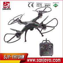 Quadcopter del abejón de la cámara del quadcopter del rc de los aviones 2.4G con la cámara YH-10HW del wifi