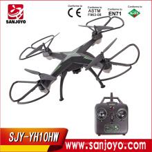 2.4 г RC самолета quadcopter камера беспилотный мультикоптер с yh-10HW WiFi камеры