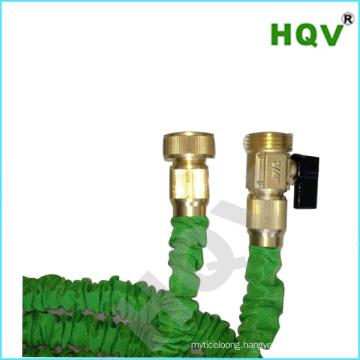 retractable garden hose brass fitting expandable garden hose