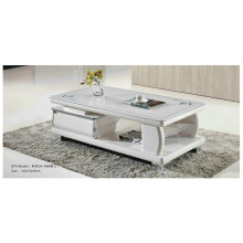 Beautiful Modern White Glass Coffee Table (GA1400)
