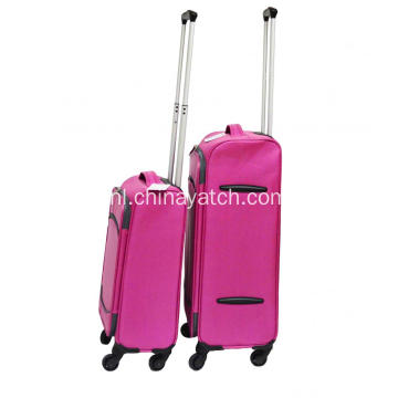 Carry on Wheeled Aluminium Trolley Zachte Trolley Bag