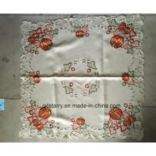 Pumpkin Embroidery Easter Day Table Cloth 2016