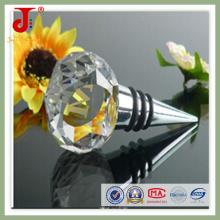 Round Shape Crystal Glass Bottle Stopper