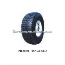 rubber wheel 15x6.00-6