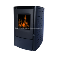 Heating pellet furnace efficiently