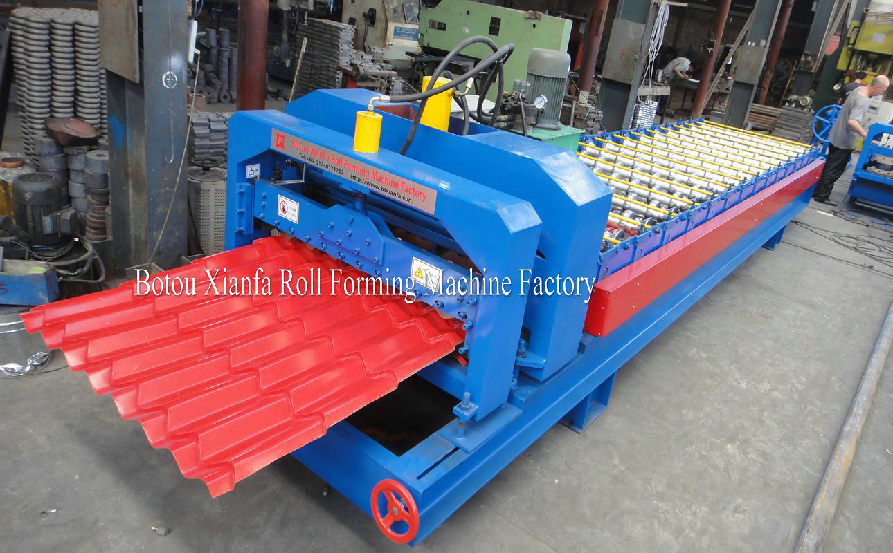 glazed forming machine
